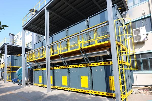 活性炭吸附再生催化燃烧设备
