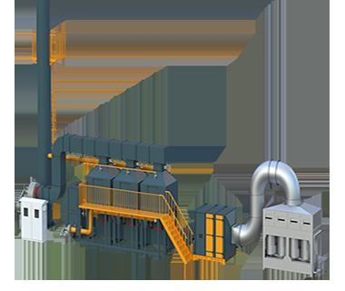 活性炭吸脱附催化燃烧设备(高配)
