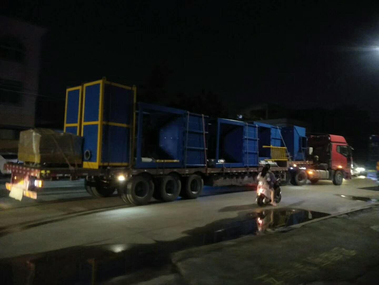 喷漆废气处理-催化燃烧设备运输途中