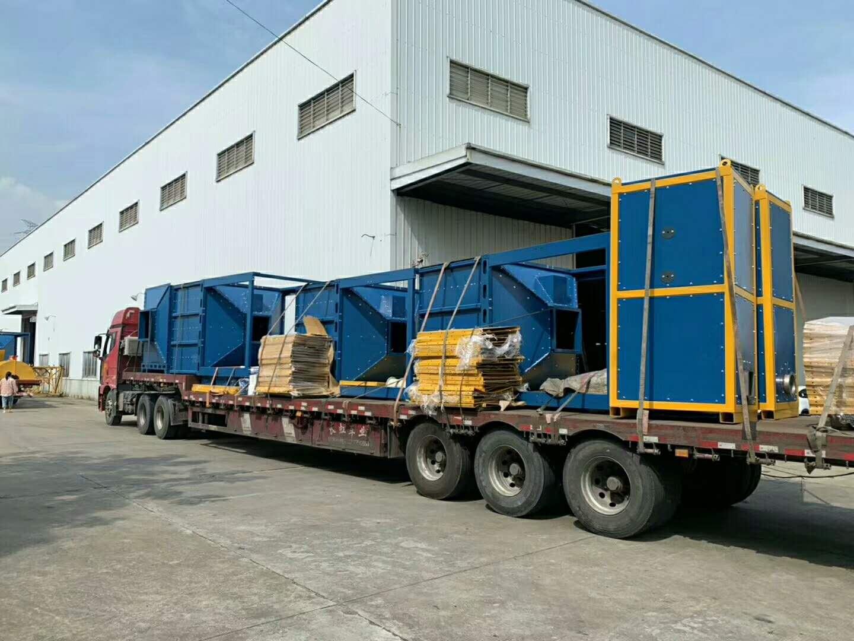 喷漆废气处理-废气处理设备到达项目方